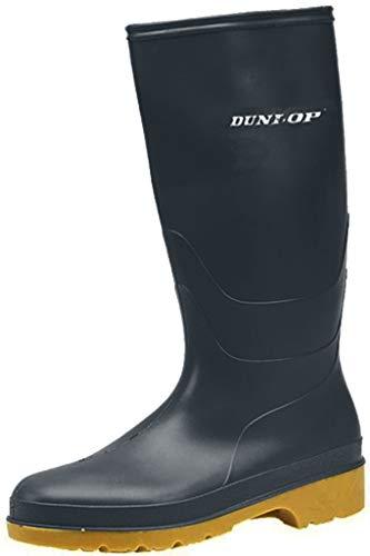 Dunlop Heava 'Dull' - botas de agua, juveniles, color Negro, talla 27,5 EU