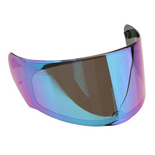 Nuevo visor de casco El Visor para Casco LS2 FF320 328 353 calidad, protección contra rayos UV. Anti-arañazos y resistente al desgaste Buena decoración para tu casco, para ser más fashional.