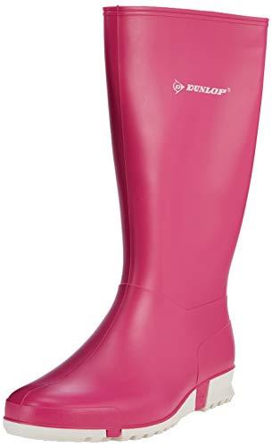 Dunlop Protective Footwear (DUO18) Dunlop Sport Retail, Botas de Goma de Trabajo Unisex Adulto, Pink, 37 EU