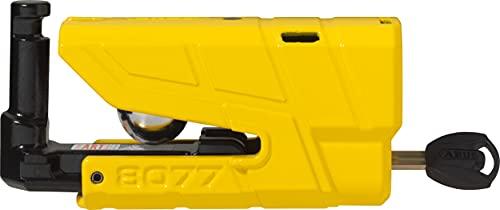 Abus 8077 Antirrobo para freno de disco con alarma, Amarillo