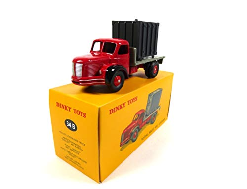 OPO 10 - Atlas Dinky Toys - Berliet Truck with Container 34B 1:43 (MB205)