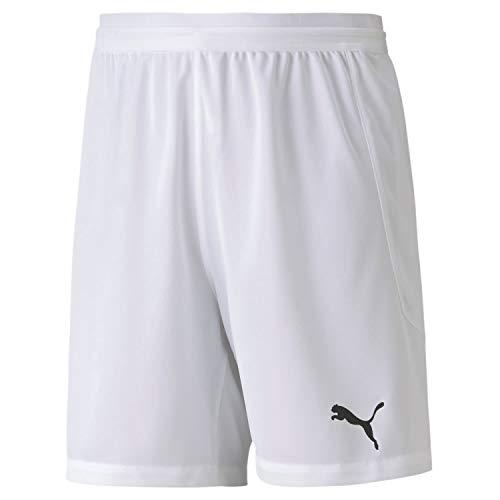 PUMA Teamfinal 21 Knit Shorts Jr Pantalones Cortos, Unisex niños, Puma White, 152