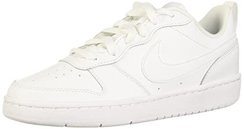 Nike Court Borough Low 2, Zapatillas de Correr, White/White-White, 38 EU