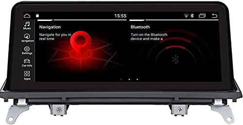 ★ Modelos de automóviles aplicables: para BMW X5 E70 (2011-2013) / BMW X6 E71 (2011-2014) Solo CIC. E70 / E71 tiene el sistema CCC y CIC, es posible que el 2011 E70 / E71 sea siempre CCC. . ★ Configuración: RK3399 PX6 A72 1.8 GHz Android9.0, RAM 4G, ROM 32G, pantalla LCD de 10.25 pulgadas IPS LCD. ★ Multifunción: Admite la función Carplay Carplay y Android Auto; Admite APTX.GPS, WiFi, Qualcomm Bluetooth, MirrorLink, CANBUS incorporado, compatible con la radio original y el controlador IDRIVE, el sistema de Origen del control iDrive y el sistema Android .. ★ Soporte de Carplay: Carplay es una forma más inteligente de usar el iPhone en el automóvil. Use la aplicación de iPhone en la nueva pantalla grande de forma fácil y segura mientras se conduce. ★ Servicio de pre-venta profesional y postventa: se recomienda enviarnos el modelo de su automóvil, el año de producción y una imagen de panel a través de Amazon Chat o Mail. Le ayudamos a verificar si este auto estéreo es perfecto para su automóvil. Si tiene alguna pregunta, se le invita a contactarnos.