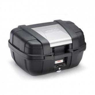 Kappa KGR52 Garda Monokey Baul, 52 Litros de Volumen, con Cover de Aluminio, 10 Kg de Carga