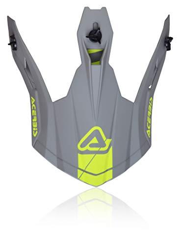 Acerbis Steel Carbon/X-Pro VTR Pico para casco Gri/Amarillo