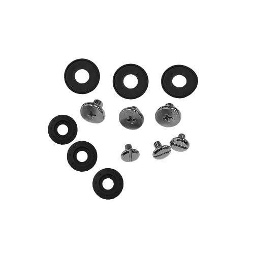 O'Neal | Protector Repuesto | Motocross Enduro | Kit de Tornillos de Repuesto para PXR Stone Shield (3 Pares) | Kit de Tornillos PXR Stone Shield | Negro | Talla unica