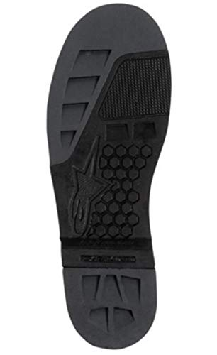 Alpinestars Soles with Inserts for 2004-08 Tech 8/Tech 7 - Size:10-11 25SUT8 10/11