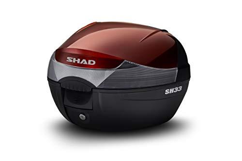 Shad D1B33E209 Sobretapa para Baúl Sh33, Rojo