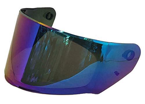 LS2 - Visera Irium Blue para casco Rapid FF353/Stream FF320/Storm FF800