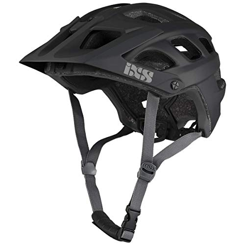 IXS RS EVO - Casco de Bicicleta de montana para Adulto, Unisex, Color Negro, ML (58-62 cm)