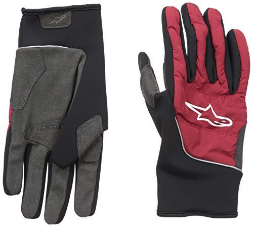 Alpinestars Cascade Warm Tech Glove Guantes, Hombre, Rio Rojo Negro, Medium