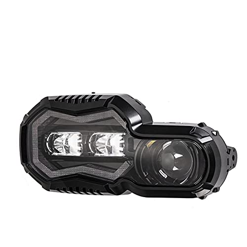 * Cuenta con lentes de proyector de haz de doble haz y