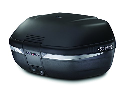 Shad D0BN00 - Baúl para motocicleta con soporte universal (42 L), color negro
