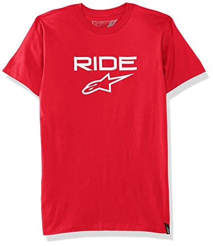 Alpinestars Paseo 2,0 tee Camiseta, Rojo Blanco, S para Hombre