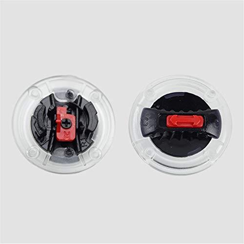 Adecuado para casco de la marca LS2, casco Sedici y casco Bilt Techno 2.0 Para el modelo de casco: estroboscópico FF325 FF370 FF386 FF396 FF358 FF385 OF569 Cada paquete tiene 1 par, uno para el lado izquierdo, otro para el lado derecho LS2 - Clip para visera de casco, placa de clip para visera de casco Sedici, bloqueo de visera de casco Bilt Techno 2.0