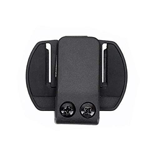 QSPORTPEAK Intercom/Talkie Accesorio Clip para Interphone Bluetooth Casco de la Motocicleta Intercom Auriculares V6 / V4