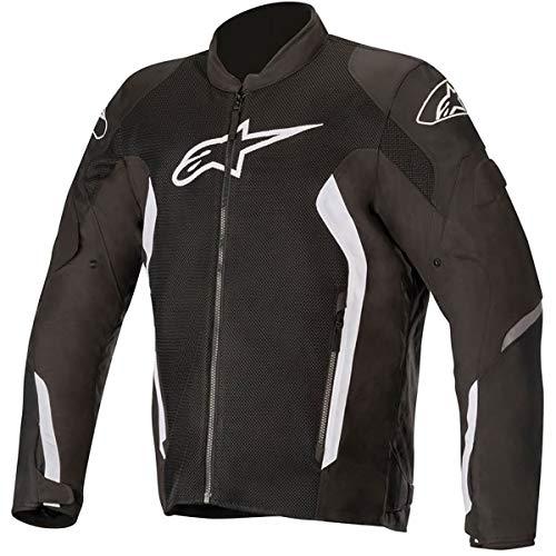 Alpinestars Chaqueta moto Viper V2 Air Jacket Black White, Negro/Blanco, XXL
