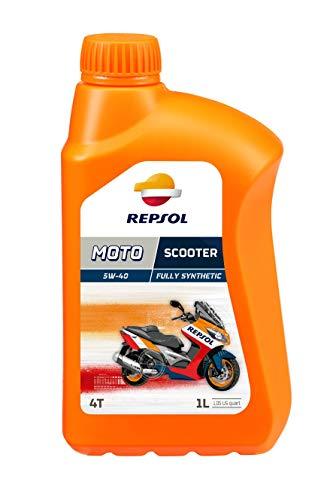 Aceite lubricante semisintético que repsol ha concebido específicamente para los scooters de ciclo 4t Entre sus características, destaca por la excelente protección que procura al motor, en las máximas prestaciones en un amplio margen de temperaturas 1l