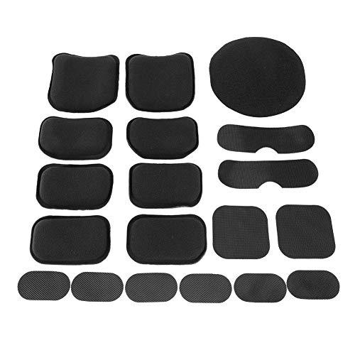 Broco Almohadillas de Casco para Exteriores, Foam Airsoft Helmet Protective Pad Cojines 19pcs / Set Soft and Durable EVA Foam Helmet Pads Almohadilla de Espuma Accesorios de Repuesto