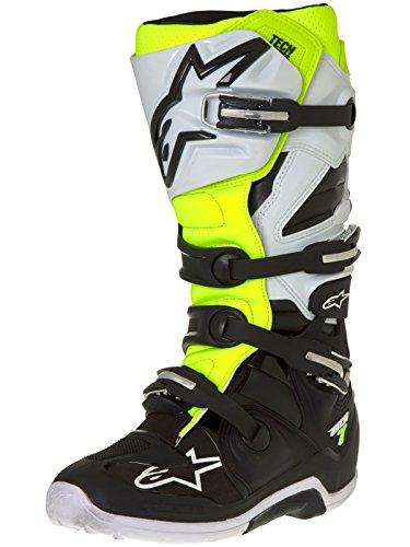Alpinestars - Botas para motocicleta Tech 7 para hombre