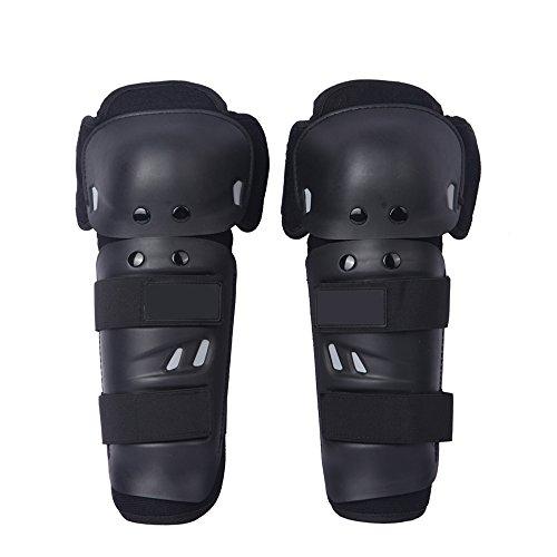 Docooler Par de rodilleras para moto racing, protectores de rodilla con panles y cintas