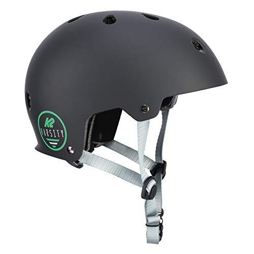 K2 Skates Varsity Casco, Unisex-Adult, Negro, M (55-58 cm)
