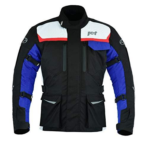 JET Chaqueta Moto Hombre Textil Impermeable con Armadura Aero Cool MERICANA (XL (EU 52-54))