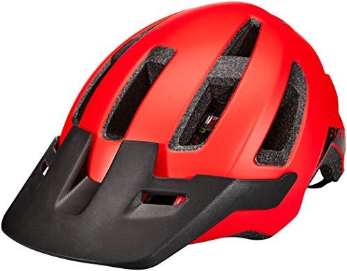 BELL Nomad MIPS Casco de Bicicleta de montaña, Hombre, Rojo Mate y Negro, Talla única