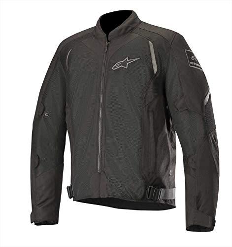 Alpinestars Chaqueta moto Wake Air Jacket Black Black, Negro/Negro, S