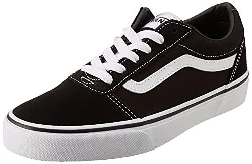 Vans Ward Suede/Canvas, Zapatillas, Black/White Iju, 39 EU