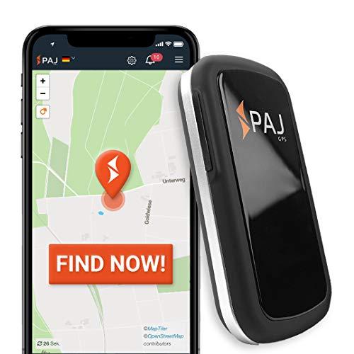 LOCALIZACIÓN GPS: El dispositivo ALLROUND FINDER con tarjeta sim integrada que se conectará a la mejor red disponible y le permitirá – gracias a su FÁCIL CONFIGURACIÓN E INSTALACIÓN – ¡Comenzar a rastrear en tiempo real en cuestión de minutos! MULTI-FUNCIONAL: El tamaño ideal del dispositivo le permitirá colocar su dispositivo donde quiera: guantera del coche, moto, maletas, mochilas, bolsos, … ¡Colócalo donde quieras! ALARMAS Y NOTIFICACIONES: Podrá activar las distintas alarmas disponibles para asegurar vigilancia total. Reciba notificaciones en caso de vibración/movimiento, entrada/salida de una zona predeterminada o en caso de batería baja. GRAN AUTONOMÍA: La duración de la batería será de unos 20 días de seguimiento activo y de hasta 60 días en modo de espera – Se activará el modo de espera cuando su dispositivo se encuentre parado con motivo de ahorro de batería. SUSCRIPCIÓN al FINDER Portal PAJ: le permitirá disfrutar de todas las ventajas detalladas más abajo – visualice y gestione su dispositivo en todo momento y en tiempo real – 5,07 al mes, 14,23 cada tres meses o 50,83 al año. Además, dispondrá de atención al cliente personalizada.