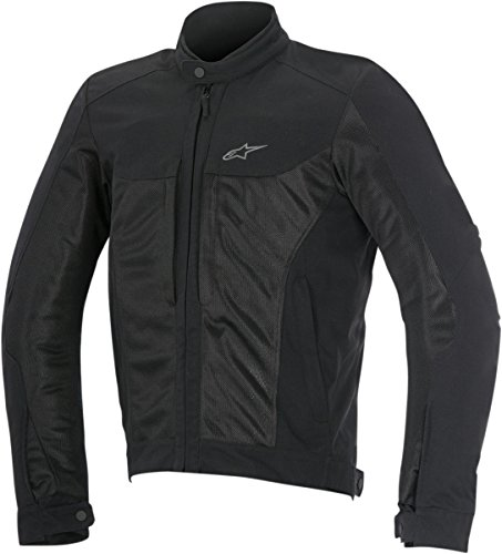 Alpinestars Chaqueta moto Luc Air Jacket Black, Negro, 3XL