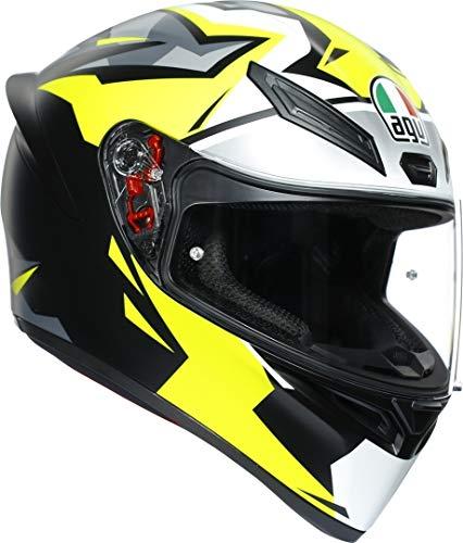 Casco integral de moto Interiores lavables extrables ECE 2205 aprobado Cierre doble D
