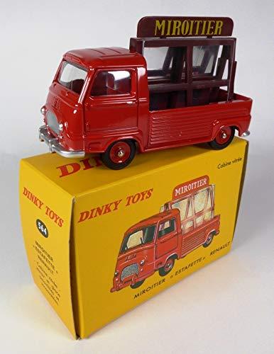 Compatible con Renault Miroitier Estafette Rouge foncée De Agostini Dinky Toys 564