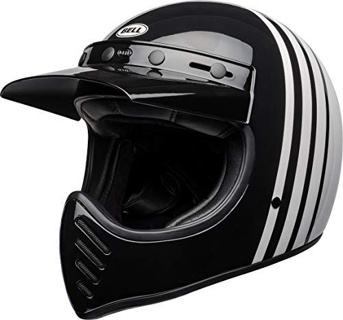BELL Helmet Moto-3 Reverb White/Black M