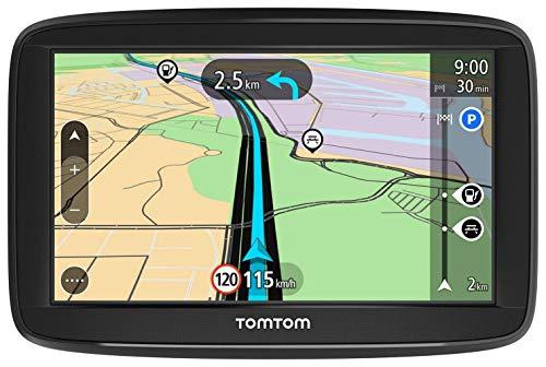 La base de la navegación: El TomTom Start 52 Lite ofrece una navegación con lo esencial; encontrar destinos es sencillo en el menú de búsqueda o al tocar un punto en el mapa; pantalla táctil de 5