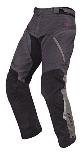 Pantalones de motocicletas Alpinestars, Andes Drystar, mujer hombre, Alpinestar, Gray Black, 36