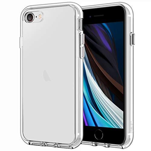 JETech Funda Compatible iPhone SE 2020/8 / 7, Anti- Choques y Anti- Aranazos, HD Clara