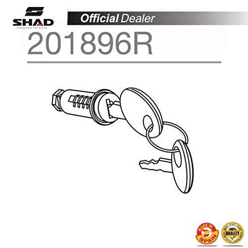 Shad 201896R SHAD-201896R : Recambio Conjunto bombin Llave Cierre Tirador Apertura baul o Maleta SH48 SH 48, Other