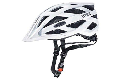 Uvex I-Vo CC Casco de Ciclismo, Unisex Adulto, White Mat, 52-57 cm