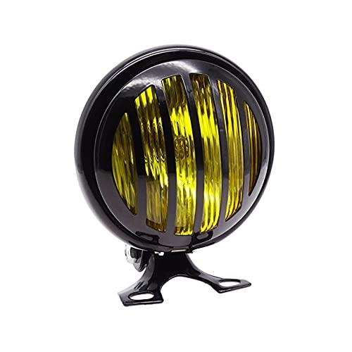 1. Transmisión alta, lente correcta de vidrio curvado para una mejor propagación de la luz. 2. Proporciona buen campo de visión mientras se conduce en una visibilidad deficiente. 3. Mayor rendimiento alto / viga baja. 4.100% nuevo y hecho de alta calidad. 5. Fácil de instalar.