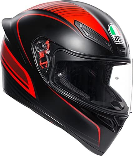 K1 es el nuevo casco deportivo AGV para los desafíos cotidianos; nacido de la tecnología Racing de AGV, apto para cualquier experiencia en carretera; K1: el casco de los ganadores.
