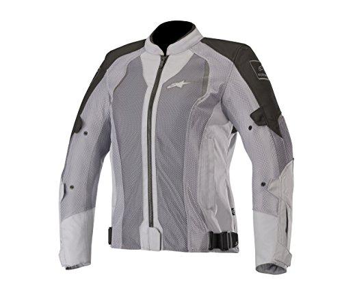 Alpinestars Chaquetas de moto Stella Wake Air Jacket Negro Mid Gris, Negro/Gris, M
