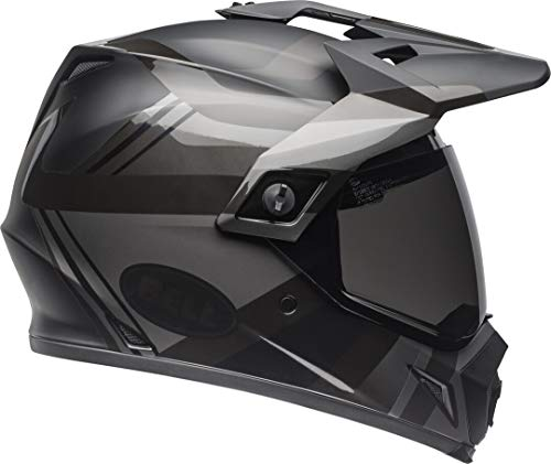 BELL MX-9 Adventure MIPS Blackout Helmet mate negro y brillante, talla S