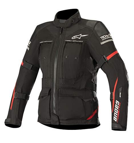 Alpinestars Chaqueta moto Stella Andes Pro Drystar Jacket Tech-air Compatibl Black Red, Negro/Rojo, M