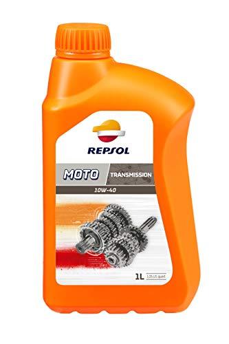 REPSOL Moto Transmisiones 10W-40 Aceite Para Moto, 1L
