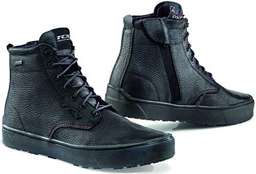 TCX Dartwood GTX - Botas de moto para hombre, color Negro, talla 45 1/3 EU