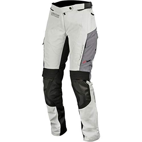 Alpinestars - Pantalón de Moto Stella Andes V2 Drystar Pants Gris - XL