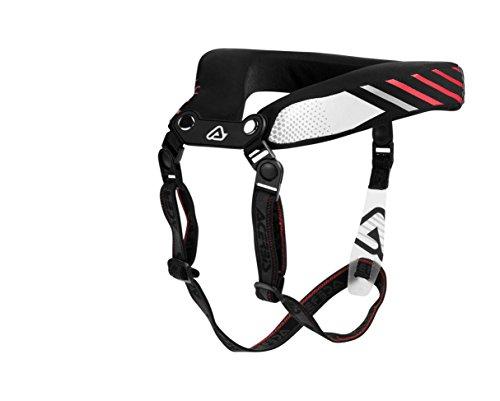 Collar de estabilización de forma ergonómica El cuello acolchado es totalmente desmontable y lavable. El collar está equipado con sistema de cierre desmontable